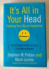 It's All in Your Head Stephen Pollan Mark Levine 1st/1st Hardcover FREE SHIPPING