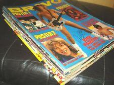 12 BRAVO Hefte 1978 mit Poster, Sweet, BCR, David Cassidy, Chris Roberts