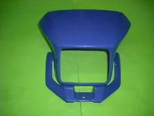 - Yamaha dt125x dt125re dt pantalla de luz faros revestimiento máscara azul