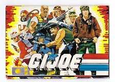 1988 GI G.I. Joe FOLD OUT CATALOGUE - EURO EXCLUSIVE! Hawk standing cover Hasbro