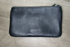 Fossil Leather Wallet Black snap & Zip