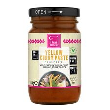 Thai yellow curry paste (gang garee) 114g by Thai Taste ***** UK Seller *****