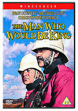 THE MAN WHO WOULD BE KNIG - SEAN CONNERY - MICHAEL CAINE - DVD