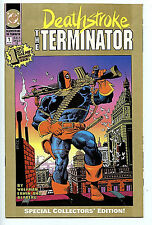 Deathstroke The Terminator #1 NM 2nd Print Gold DC Comics New Amricons 1991 H13