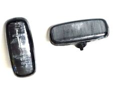 AUDI A2 A3 A4 A6 TT PAIR OF FRONT WING SIDE INDICATOR SET SMOKED LEFT + RIGHT