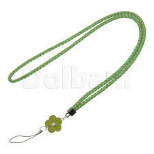 Multifunctional Lanyard Large Green Flower for Android Devices