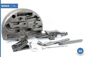 97-06 Jaguar XK8 X100 Emergency Spare Tire Foam Holder w/ Tool Kit MJA6374AB OEM