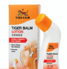 Tiger Balm Rub Lotion Strong Pain Relief Best overall cream for muscle pain