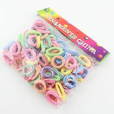 100pcs children girl hairband hair rope elastic headband kids hair accessories