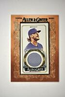 2020 Topps Allen and Ginter Mini Framed Relic #MFR-KB Kris Bryant - Chicago Cubs