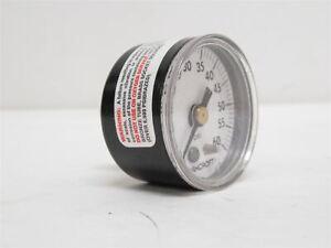 "225442 New-No Box, Ashcroft 15W1005H01B60 Pressure Gauge, 0-60Psi, 1.5"" Face"