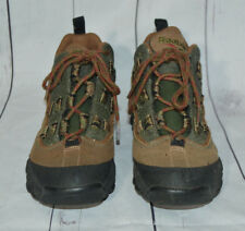 VTG Reebok DRT2 Hiking Trail Boots Shoes Brown Leather Rubber Womens 10 EUC
