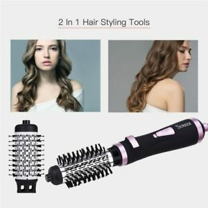 NEW 2in1 Multifunctional Hair Dryer Automatic Rotating Hair Brush Roller Styler