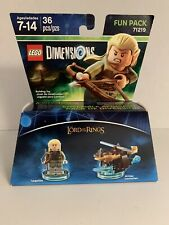 Lord of The Rings Legolas + Arrow Launcher Fun Pack 71219 Lego Dimensions New