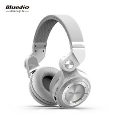 Bluedio T2+ Stero Wireless Bluetooth Mic Headset FM,SD Card Slot Headphone White
