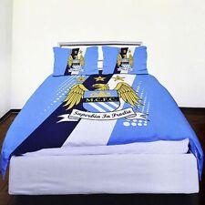 Lenzuola e biancheria da letto blu a righe