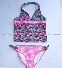 73% OFF! ANGEL BEACH 2-PC TANKINI SWIMSUIT SET SIZE 6X / 6-7 yrs BNWT US$ 24+