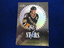 1996 Leaf Limited  Mario Lemieux Stars of the game hockey card  Penguins # 1