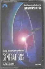 Star Trek Generations Movie Soundtrack Music Cassette