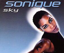 SONIQUE SKY CD MUSIC REMIX SINGLE SONGS (2000) 4 VERSIONS  L3