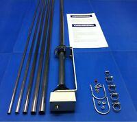 SE X80 VERTICAL HF RADIAL FREE ANTENNA 80 TO 6 METRES