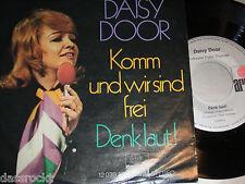 """7"""" - Daisy Door / Komm und wir sind frei & Denk laut - VG++ # 1786"""