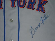 GEORGE FOSTER AUTOGRAPHED JERSEY (NEW YORK METS) PROOF!