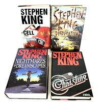 Stephen King Hard Back Books Set Of 4 All 1 St Editions 8778e