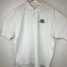 2010 US Open Pebble Beach Golf Polo Shirt Cutter & Buck White Size 2XL XXL