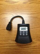 15 Amp 3 Outlet Indoor/Outdoor Digital Timer