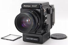 MINT!! Mamiya RZ67 Pro II W/sekor z 110mm F2.8 winder Film B 120 From Japan #194