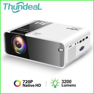 Native 720P Projector Android WiFi Smart Phone Projector 3D Video Portable