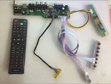 Kit For QD15TL01 Rev.01 LCD LED controller Driver Board TV+HDMI+VGA+CVBS+USB
