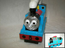 Thomas the Train Engine #1 Mattel Blue Flashlight With Sounds Big Eyes 8x6""