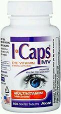 Alcon ICaps Multivitamin Eye Vitamin & Mineral Support, 100 ea (No box) 4/16+