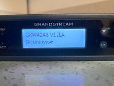 Grandstream GXW4248 FXS Analog VOIP Gateway w/ Power Supply
