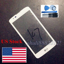 Front Outer Len Glass Screen for LG K7 K330 Ms330 Ls670 Ls675 High quality white