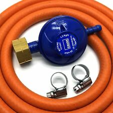 Calor Gas Brand 4.5kg BUTANE GAS REGULATOR 2mt HOSE 2 CLIPS Fits Calor Gas 4.5kg