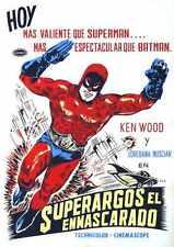 Superargo Vs Diabolicus Poster 01 Metal Sign A4 12x8 Aluminium