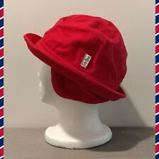 Vintage Conte of Florence Mens Red Nautical Fishermans Sailors Hat