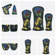PRG GOLF ORIGINALS DRIVE FOR SHOW DRIVER, FAIRWAY, RESCUE OR PUTTER HEADCOVER.