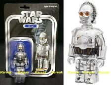 Medicom Kubrick 2011 Star Wars TC-14 Silver Chrome 100% Wonder Festival Figure
