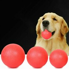 Indestructible Training Toy Rubber Ball Pet Puppy Dog Chew Play Fetch Bite YR