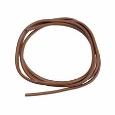 PVC Sleeve Sleeving Cable Cover 3mm Live Brown Red Rubber Twin Short Socket New