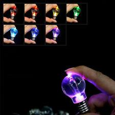 Portable 7 Different Colors LED Flash Lights Mini Bulb Torch Key Chain Key Ring