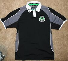 GUINNESS Rugby JERSEY GUINESS SHIRT POLO IRELAND IRISH HARP BLACK Medium M