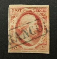 Nederland 1852 Willem lll NVPH 2 plaat X pos 35