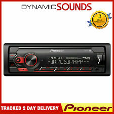Pioneer MVH-S320BT USB Bluetooth Android Ready Stereo Spotify Red Illumination