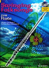 Swinging Folksongs for Flute + CD mit Playbacks und Klavierstimme zum Ausdrucken