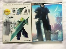 Final Fantasy VII + Crisis Core Bradygames Official Strategy Guides